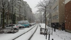 Winter Weather in the city.