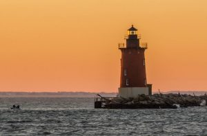 Atlantic Coast Lighthouse in Delaware