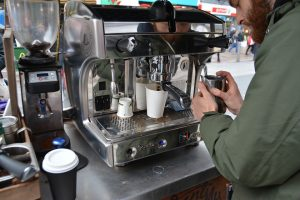 Workers Comp Premium may be high for a Small Business Coffee Shop.